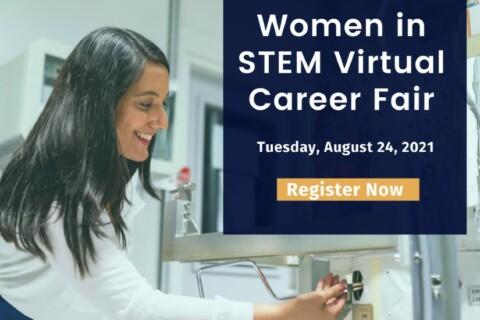 Vault-Firsthand Women in STEM Virtual Career Fair—REGISTRATION STILL OPEN! thumbnail image